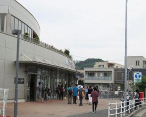 会場となった「日吉本町西町会いきいき会館」には300人を超える人々が来場した