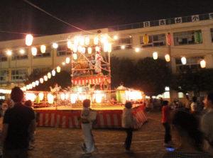 昨年(2018年)にも初めて踊った「東京五輪音頭」で今年も祭りを盛り上げる(写真は過去開催時)