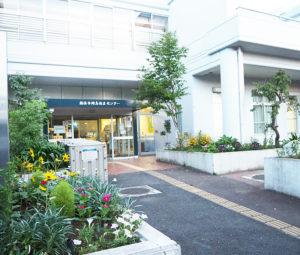 会場となる綱島地区センター。先月(7月)にはガーデニングクラブが新たに発足するなど、同館での地域活動が活発化している