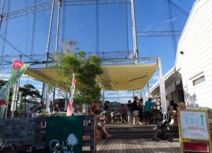 レストラン部門も、普段の営業とは異なる「夏祭り」を演出する(2018年8月開催時)