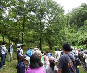 環境再生が進んだ一の谷(過去開催時、主催者提供)