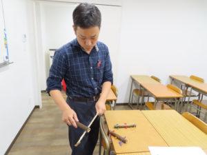 「学び」を、机上のみでなく「リアルな体験」もプラスし体得してほしいと玉田さんは感じている。竹細工からの学びは、まさに中学受験の算数の入試問題で問われる「空間認識能力」「仮説思考力」 の実技試験のよう