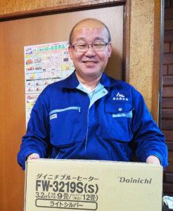 「もともと機械いじりが好きでした」と、「アトム電器 港北高田店」主担当として就任した松田さん。早速、読者からのオーダーも複数舞い込んでいる