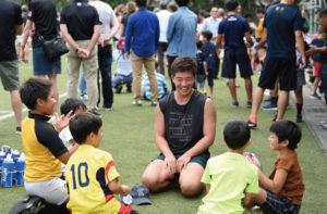ラグビーにまずは親しめる環境を子どもたちに提供する予定(主催者提供)