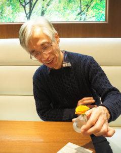 経営してから「一日たりとも生花を切らしたことはありませんでした」と瀬川さん