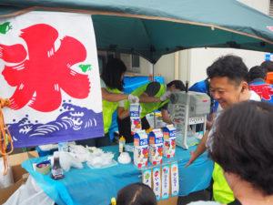 昨年7月には、公益社団法人神奈川法人会綱島東支部の地域交流イベント「流しそうめん大会」にも参加。地域の人々とのふれあいを大切にしたいと佐藤さんは語る