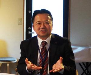 特に中小企業の事業継承の現状は大変厳しく、M&Aも水面下では活発に行われていると語る佐藤さん(2019年11月)