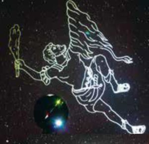 「ぜひご家族で夜空の星をお楽しみください」と、多くの入場を呼び掛ける(アピタテラス横浜綱島提供・イメージ)