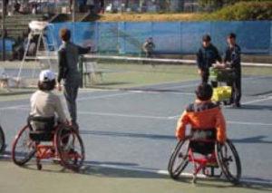障害者スポーツ文化センター横浜ラポール(鳥山町)などの協力により「車いすテニス体験会」も行われる予定(2019年開催時、ニュースリリースより)