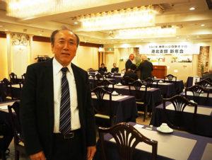 「神奈川県自動車整備港北支部」武藤秀明支部長は2015(平成27)年から現職。ホームページの立ち上げにより情報発信を活発化したいと考えている(1月23日、新横浜国際ホテル)