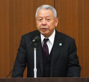 港北安心・安全コミュニティー創生協議会の畠山英治会長は、「東京2020オリンピックまで100台」の目標達成が近づいていることを強調