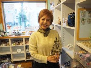手作り雑貨店「HANDMADE ART BOX(ハンドメイド・アートボックス)M工房」オーナーの小泉美菜さん