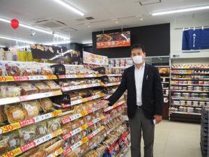 マネジメントオーナーの吉野さん。地元育ち・在住の強みを活かし「より地域に根差した店舗に」と意気込む