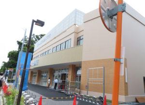 駐輪場も再び整備されている。なお、本日現在、2階テナントのクリニック1医院は正式決定していない(6月15日14時頃)