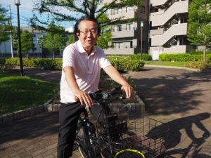 樽町連合町内会長に就任した小泉亨さん。2010(平成22)年にはパークシティ綱島でマンション自治会を新たに立ち上げるなど、地域活動を行ってきた