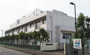 1986(昭和61)年創立の高田中学校