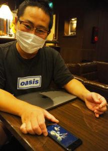 臨場感あふれるライブ映像の配信を行いたいと意気込む池田社長
