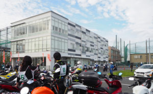 昨年(2019年)開催時の様子(10月20日、日吉自動車学校)