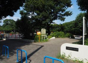 新たに下田地域ケアプラザによるラジオ体操会場となった「下田町四丁目公園」