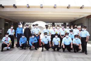 テロ対応訓練に参加した東急日吉駅・菊名駅、市営地下鉄日吉駅や県警・港北署の皆さん