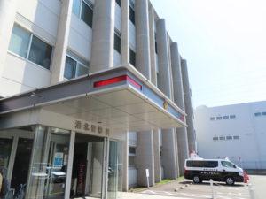大豆戸町にある港北警察署
