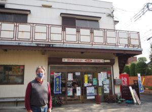 先代社長の飯山清志さんは取締役に。洋平さんとともに、角屋商事、そして箕輪町の「地域まちづくり」を引き続き盛り上げていく