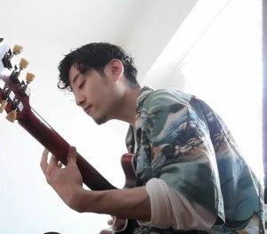 大学卒業後、2014(平成26)年春に単身渡米しジャズの本場・ニューヨークでもギターの研鑽を積んだ(早川拓哉さん提供)