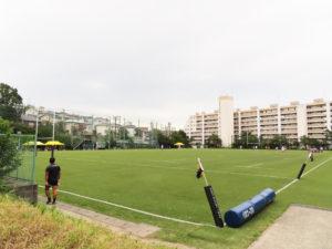 下田グラウンドでの試合は「無観客」での開催となった(写真は2019年9月の国際試合開催時)