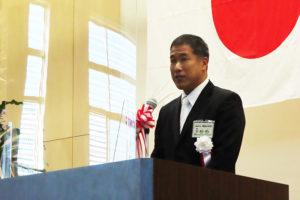今年(2020年)4月から着任した徳江武司校長もあいさつ