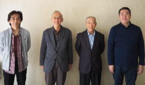高田地区の4つの「自治会・町内会」に新会長が就任。それぞれの「地域まちづくり」への想いを聞いた(10月31日、高田地域ケアプラザにて)