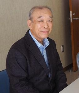 「高田中央町内会」新会長の青木さん