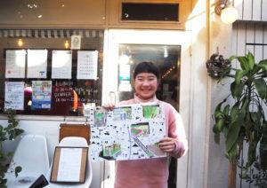 小久保さんが1歳の頃から親しんできた日吉の街の「きれいなところ」を描いたという