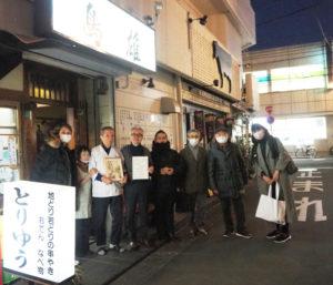 普通部通りからも松本紀彦理事、奥村一光理事、今回のイベントを運営したメンバーが訪れ、イベントのラストを飾る表彰式に華を添えていた