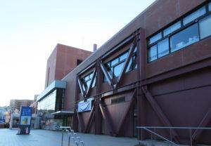 港北区役所・港北区福祉保健センターのある区総合庁舎(大豆戸町)
