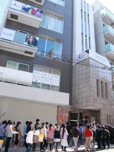 日吉台小学校の3年生が日吉の「美容室ACT(アクト)」と「ACT ZIP(アクトジップ)」を授業の一環で訪れた(2月16日)