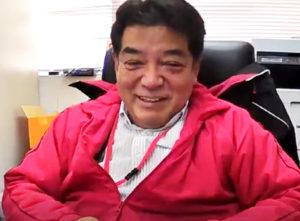 「子どもたちを感染リスクから守りたい」との想いを熱く語る水柿社長。神奈川法人会(大豆戸町)理事、樽大曽根支部長としても今年の4月から5年目となるなど活躍している