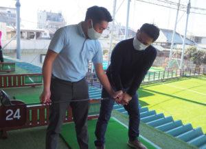 これまでの「キッズゴルフ」のコースに加え、昨年(2020年)10月から専属となり活躍している