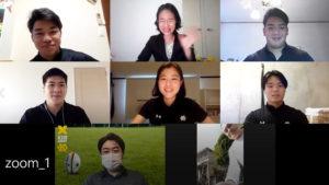 きょう(2021年)3月23日に卒業する慶應義塾大学ラグビー部(蹴球部)の5人に、4年間過ごした大学、ラグビー部、そして日吉周辺での想い出などについて話を聞いた(2021年2月7日、オンライン会議システムZoomにて収録)