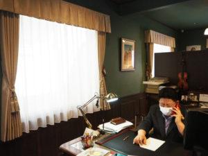 加賀さんを頼り、「コロナ禍」でも多くの電話がかかってくるという