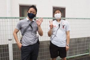 日吉商店街も協力参加。テントを提供し会場設営を行うなどの協力を行いました