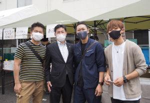 公益社団法人神奈川法人会(大豆戸町)の綱島東支部のメンバーも協力、場を盛り上げていました