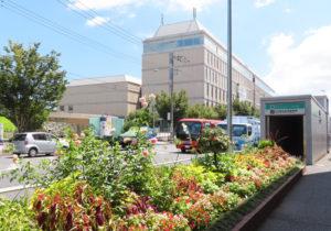 日吉駅前の「図書取次サービス拠点」は慶應義塾大学日吉キャンパス(日吉4)内の「協生館」1階に来年(2022年)1月オープンする予定